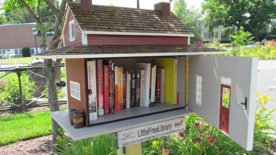 little free library, Bol