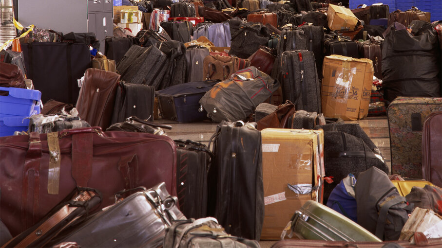 When Lost Luggage Is Reclaimed for Good