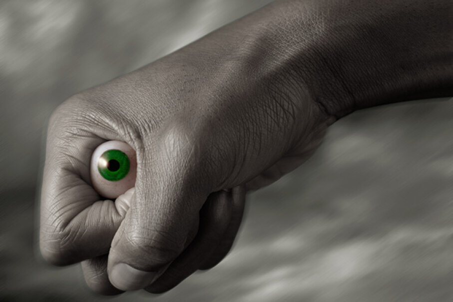 Prosthetic eyes have been recovered at least twice from amusement parks. The Image Bank/Getty Images