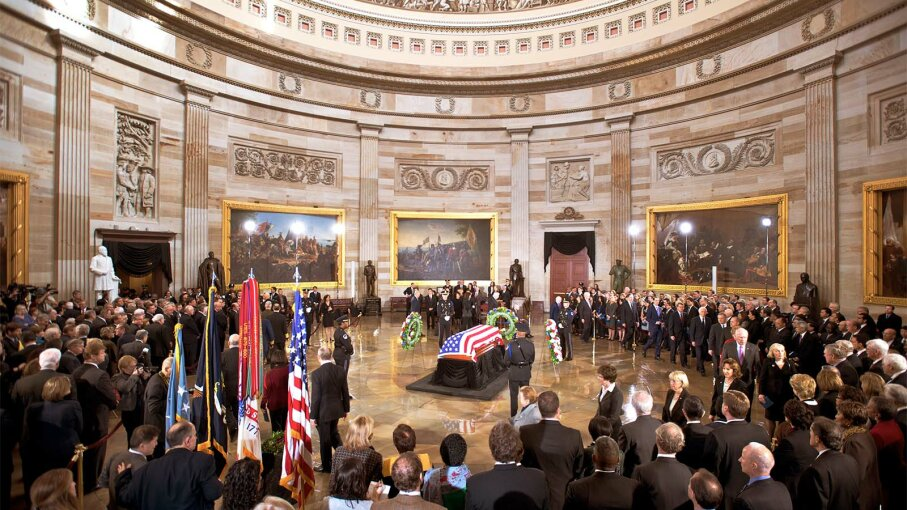 lying in state, Capitol Rotunda
