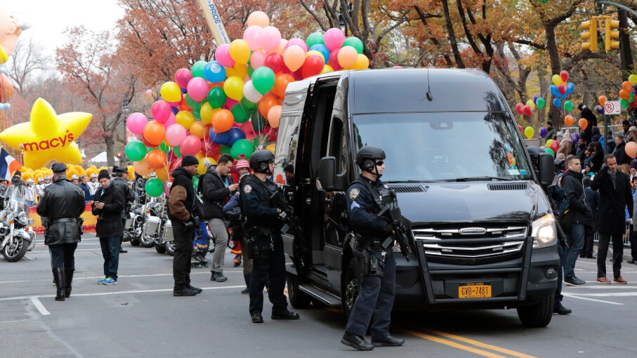 NYPD, Macy's Thanksgiving Day Parade