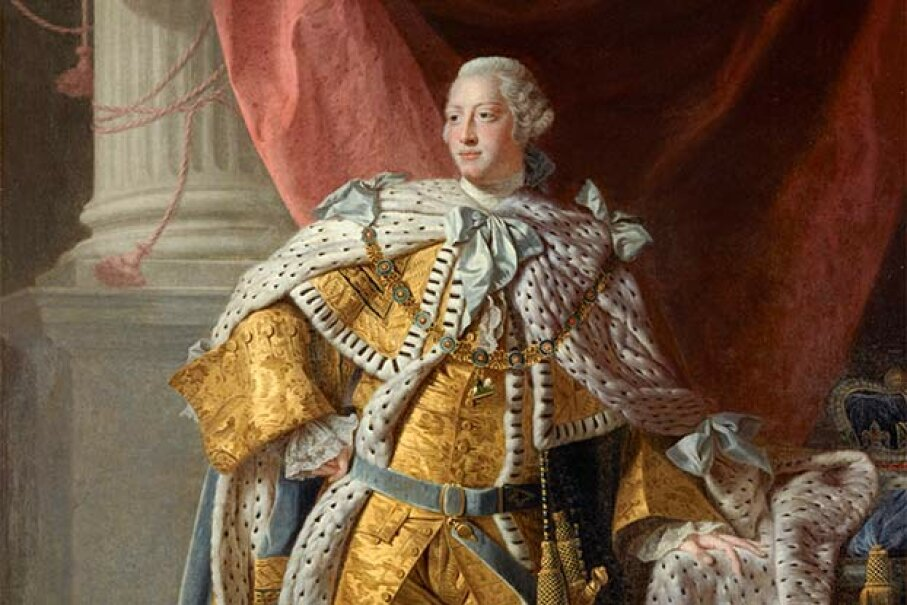 Some experts believe that King George III suffered from porphyria rather than mental illness. National Galleries Of Scotland/Getty Images