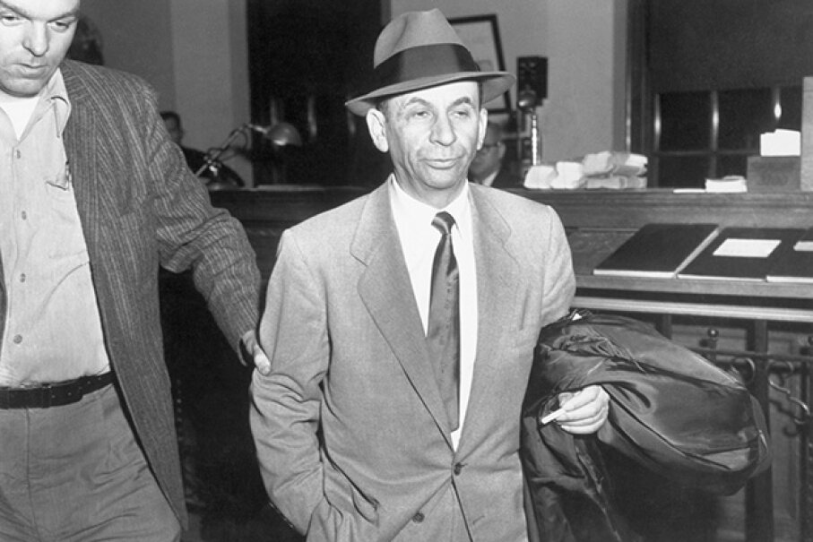 "There was more to Meyer Lanksy than what you might've seen on ""Boardwalk Empire."" The mobster played a large role in turning Las Vegas into a Mafia-run gambling destination. Bettmann/Corbis"