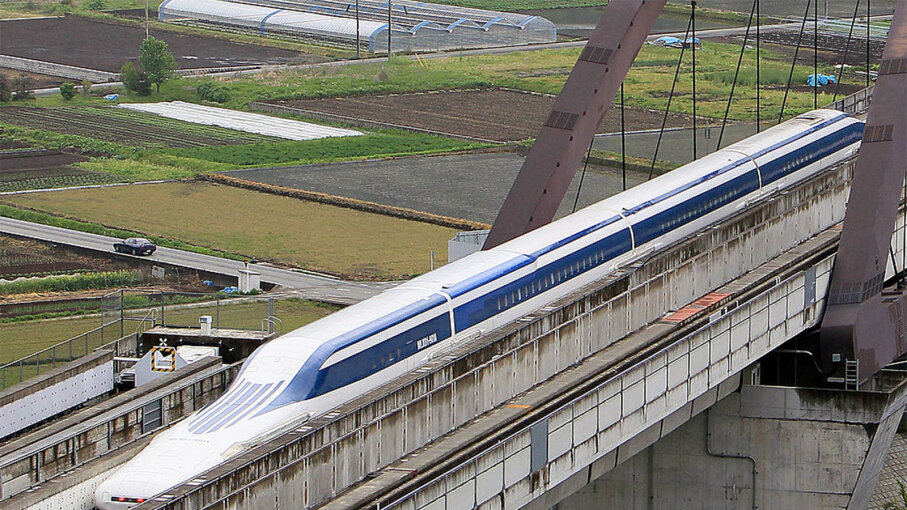 maglev test run