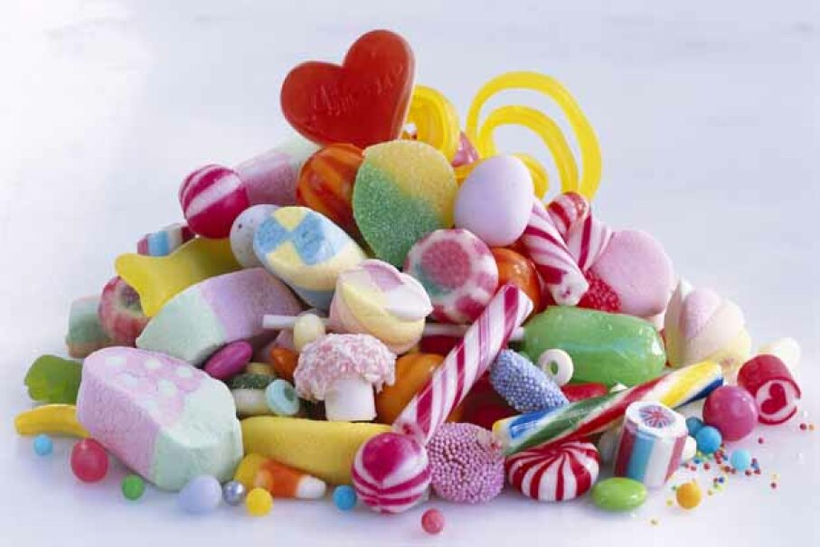 Can candy really make kids hyper? Maximilian Stock Ltd./Photographer's Choice/Getty Images