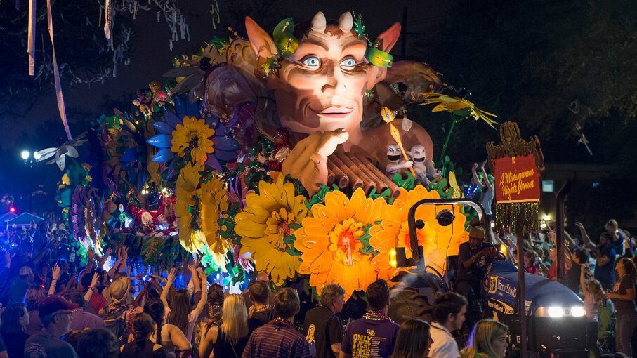 krewe of Orpheus parade