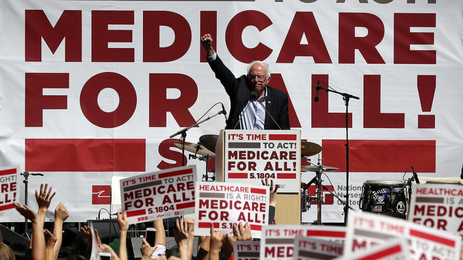 Bernie Sanders. Medicare for All