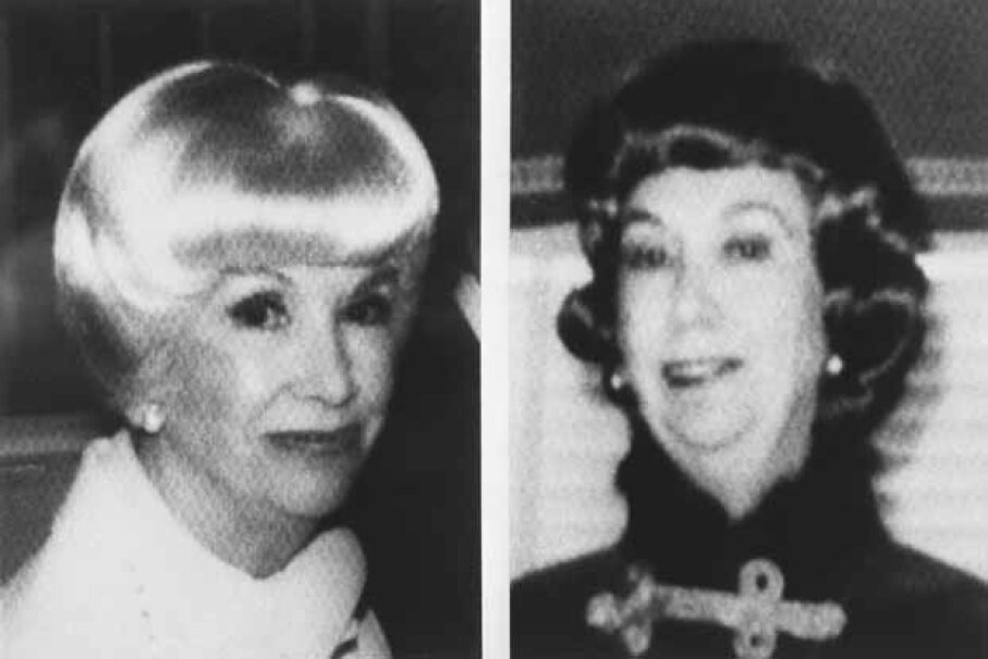 Two photographs of candy heiress Helen Brach who disappeared in 1977 and was declared dead in 1984. © Bettmann/CORBIS