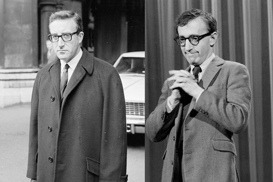 Peter Sellers was NOT pleased with what happened when he was mistaken for Woody Allen.  CBS Photo Archive/Harold Clements/Express/Getty Images