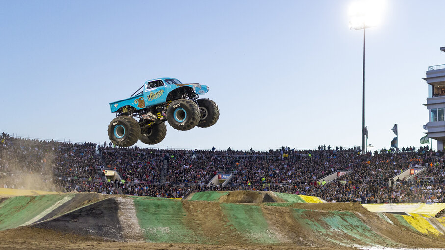 whiplash Monster Truck Jam