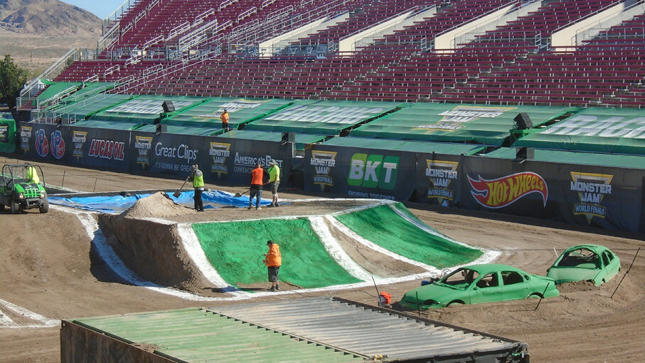 Monster Truck Jam tracks