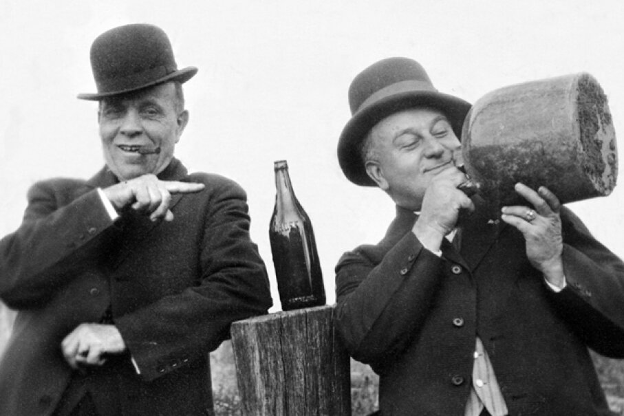Moonshine existed both before and after Prohibition. What makes it so appealing? © Kirn Vintage Stock/Corbis
