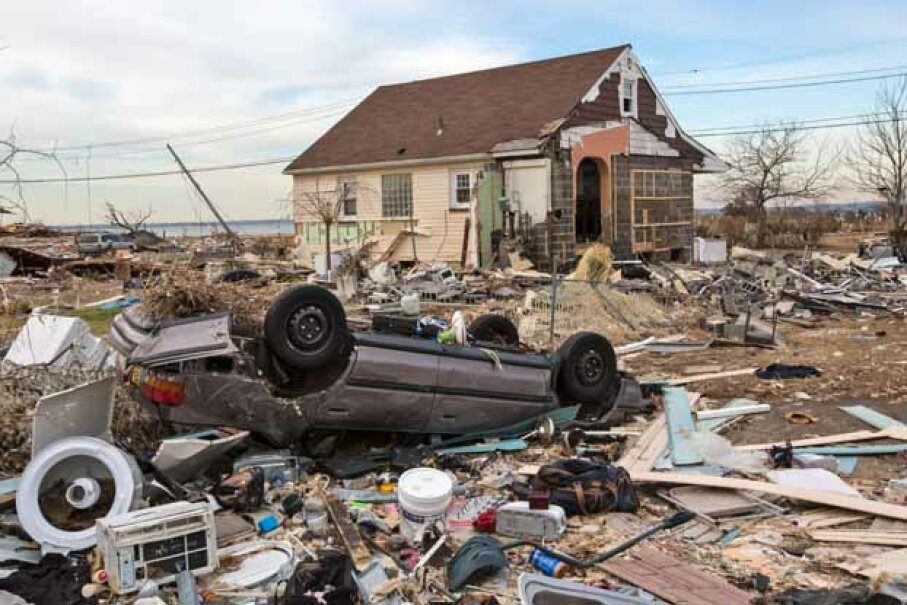 Living through and after a natural disaster like Superstorm Sandy means improvising with tools you have on hand.  Which are the best to keep? © Julie Dermansky/Julie Dermansky/Corbis