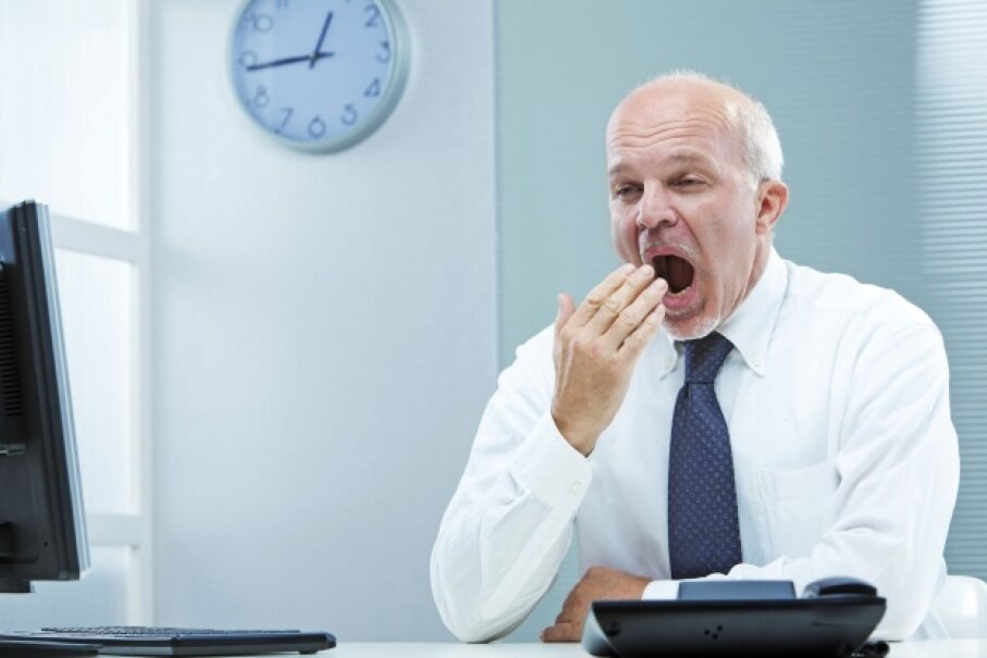 Science is still puzzling out why we yawn. It might have more to do with temperature than tiredness. © Giulio_Fornasar/iStock/Thinkstock