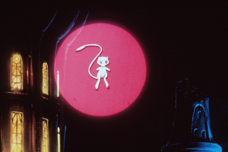"Mew made an appearance on the silver screen in ""Pokemon:The First Movie"" in the late 1990s. ©Getty Images"