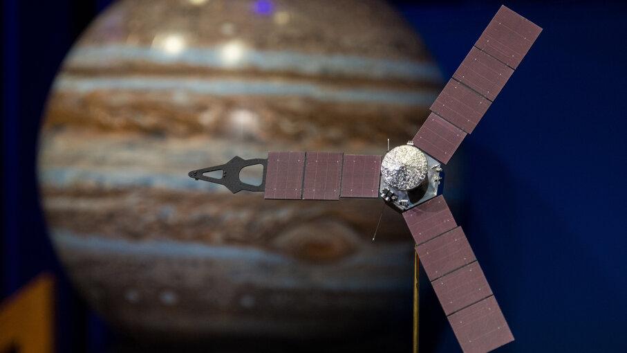 Juno Spacecraft model