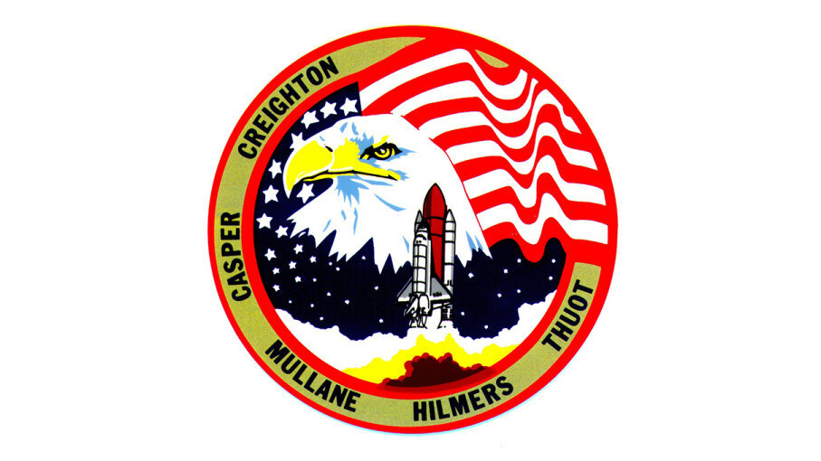 Shuttle mission badge