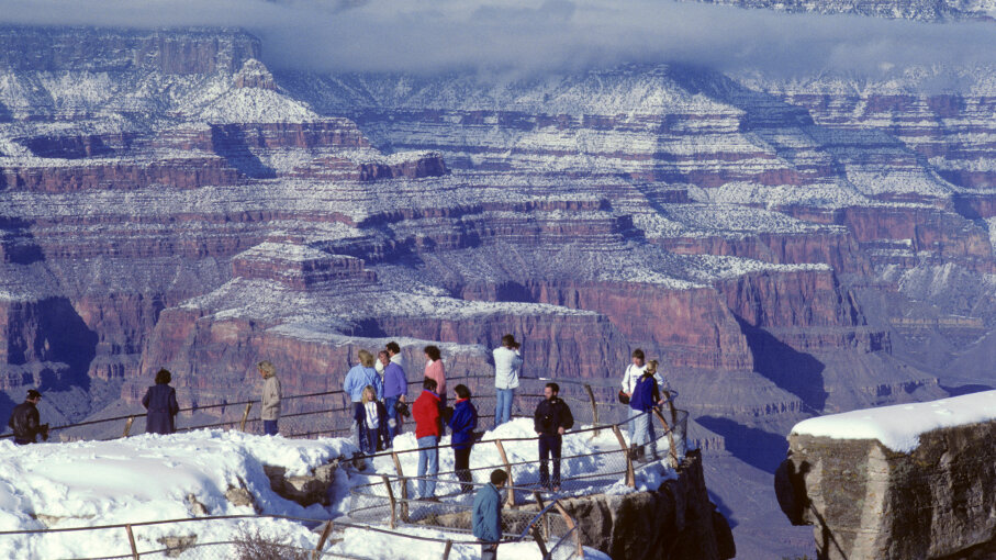 Mather Point Overlook, Grand Canyon