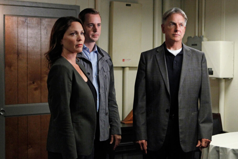 """Though it has inspired a number of series of its own, """"NCIS"""" actually got its start as a spinoff of """"JAG."""" CBS Photo Archive/Getty Images"""
