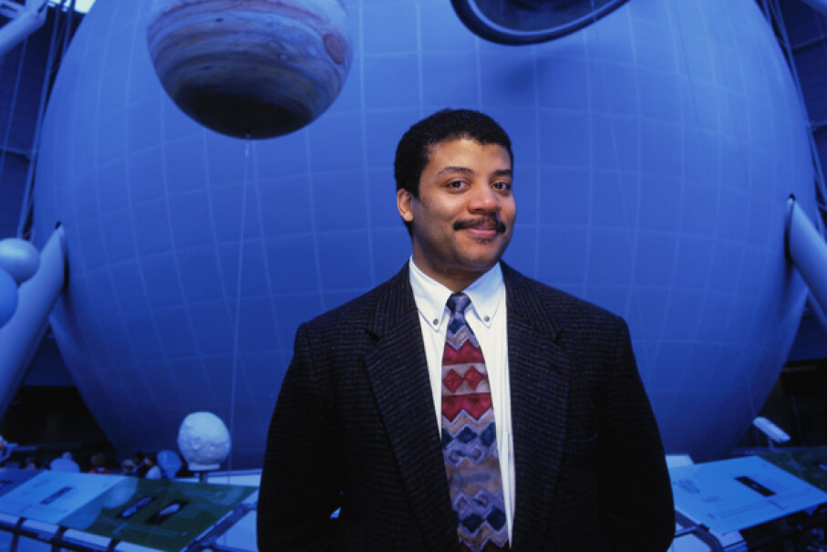 Astrophysicist and science promoter Neil deGrasse Tyson is the director of the Hayden Planetarium, but that's just the tip of his accomplishments. See more constellation pictures. © Andrew Brusso/Corbis