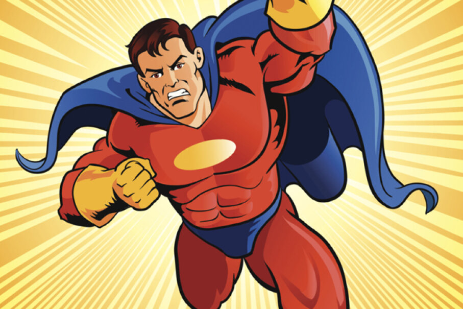 NDT got some facetime with Superman in Action Comics 14. iStock Vectors/Getty Images