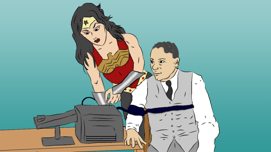 Wonder Woman creator William Marston imbued his character with themes of truth, matriarchy and bondage, all drawn from his own life. Christian Sager