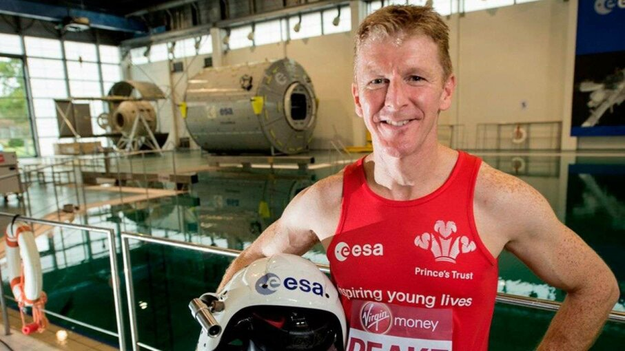 Tim Peake Runs Marathon on ISS Carousel: ESA; Video: Sky News