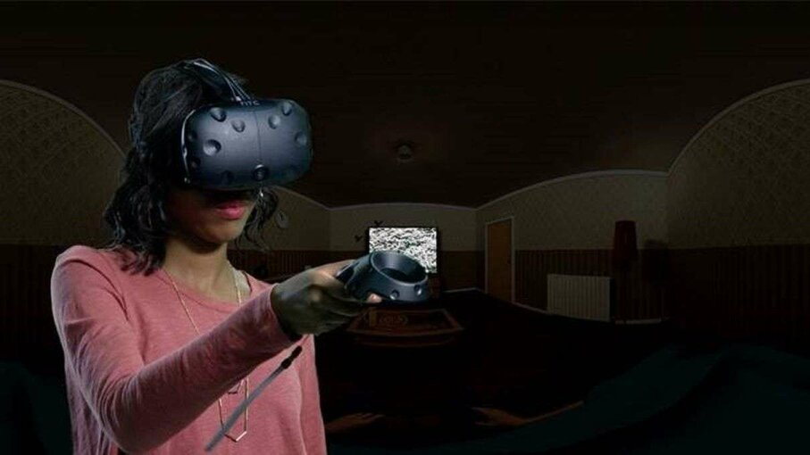 There's nowhere to hide in a VR horror movie. TRICK 3D/Captain Hishiro's The Ring VR Fan Short Movie