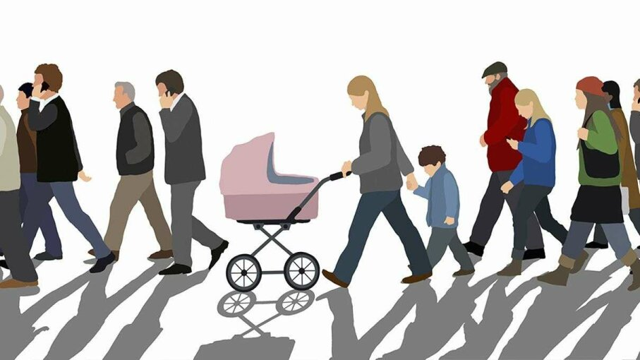 Scientists suggest the distinct walk each person exhibits may reveal innate personality traits. Malte Mueller/Getty Images