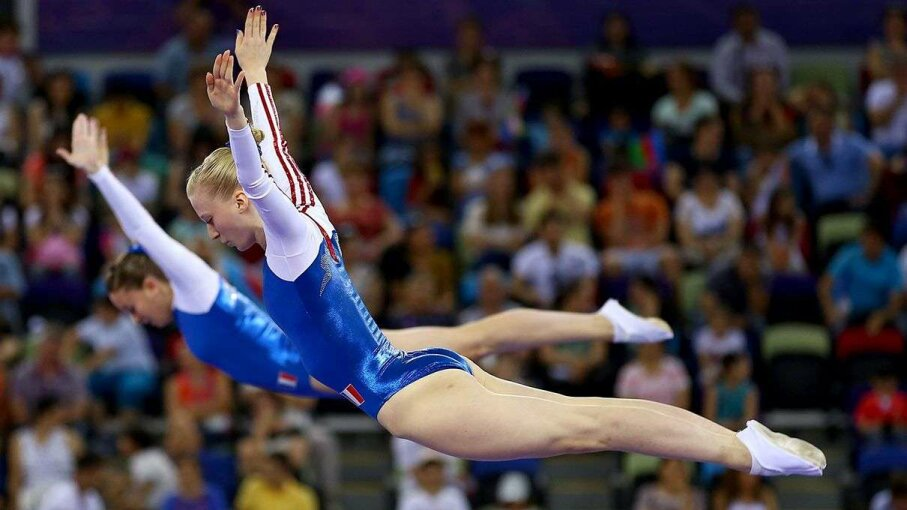Louisiana Trampoline Star Up for Olympic Trials Carousel: Cem Oksuz/Anadolu Agency/Getty Images; Video: AP News