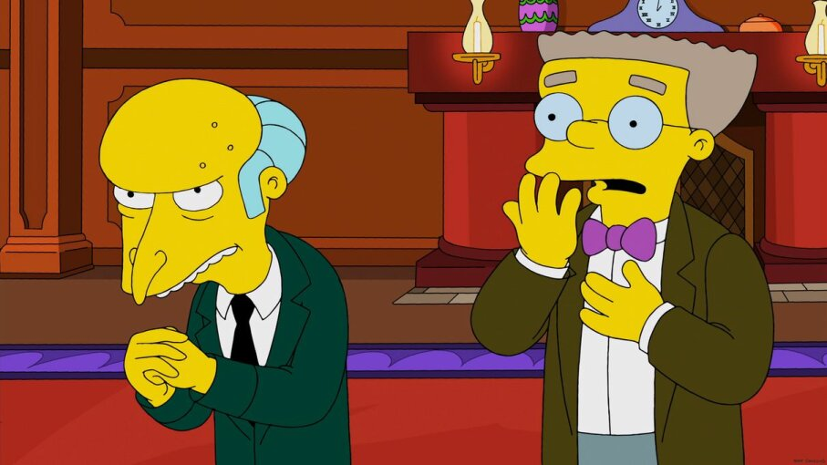 "Would billionaire ""The Simpsons"" character Mr. Burns infuse his veins with the blood of the young? We're surprised he hasn't already. Fox/Getty Images"