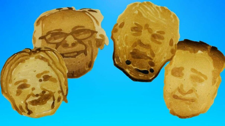 Presidential candidates made from the PancakeBot pancake printer are on display at the International Home + Housewares Show in Chicago. Mary Beth Breckenridge/Akron Beacon Journal/TNS via Getty Images/HowStuffWorks