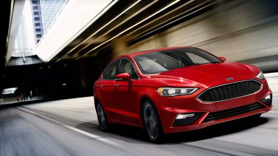 In addition to a twin-turbocharged 2.7-liter EcoBoost engine, the Fusion V6 Sport features pothole detection technology. The Ford Motor Company