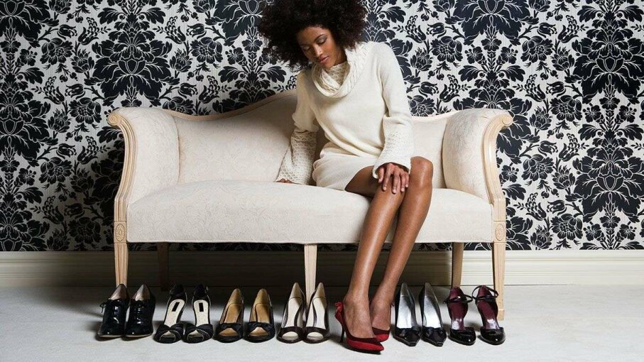 When women move to another city, do they buy shoes of a different height? That depends on the income of their new city, a study found. Leonard McLane/Getty Images