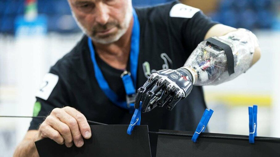 Cybathlon 2016, an Olympic-style competition to advance assistive devices, will be held in Switzerland on October 8. Alessandro Della Bella/ETH Zurich