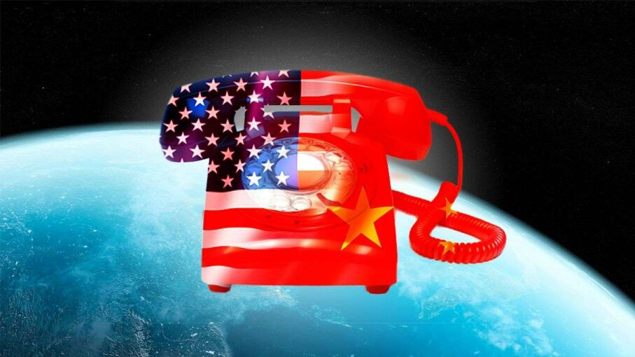 A new hotline allows China and the U.S. to communicate about activity in space, with the aim of avoiding any conflict-starting misunderstandings. Sciepro/Daboost/PeterDazely/Getty