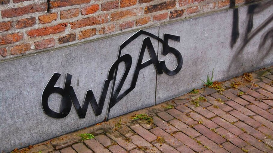 As Google phases out its CAPTCHA identity verification, the jumble of letters and numbers will live on in the public consciousness, if only in art installations and graffiti. Aram Bartholl/Flickr