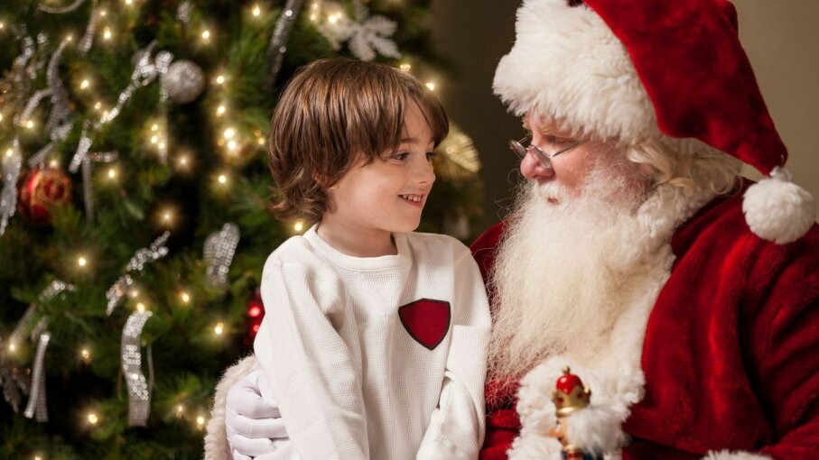 Is there a downside to believing in jolly old St. Nick? avid_creative/Getty Images