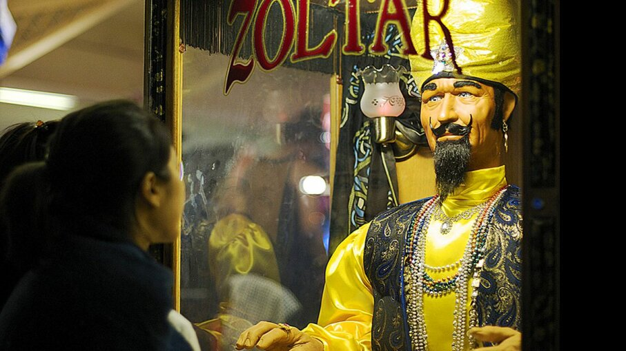 """The coin-operated fortune teller Zoltar is a popular attraction in the American West Coast, and even made an appearance in the 1988 Tom Hanks film """"Big."""" David Kosmos Smith/Flickr"""
