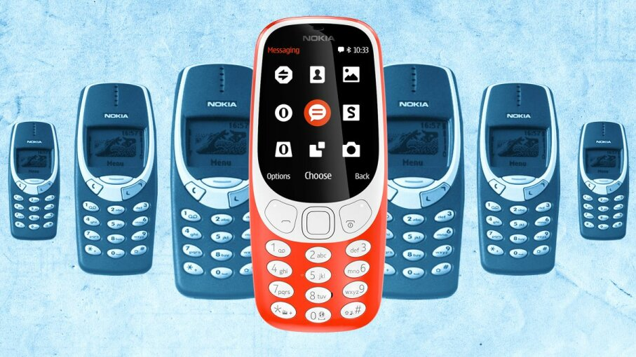 Nokia 3310 new and old versions