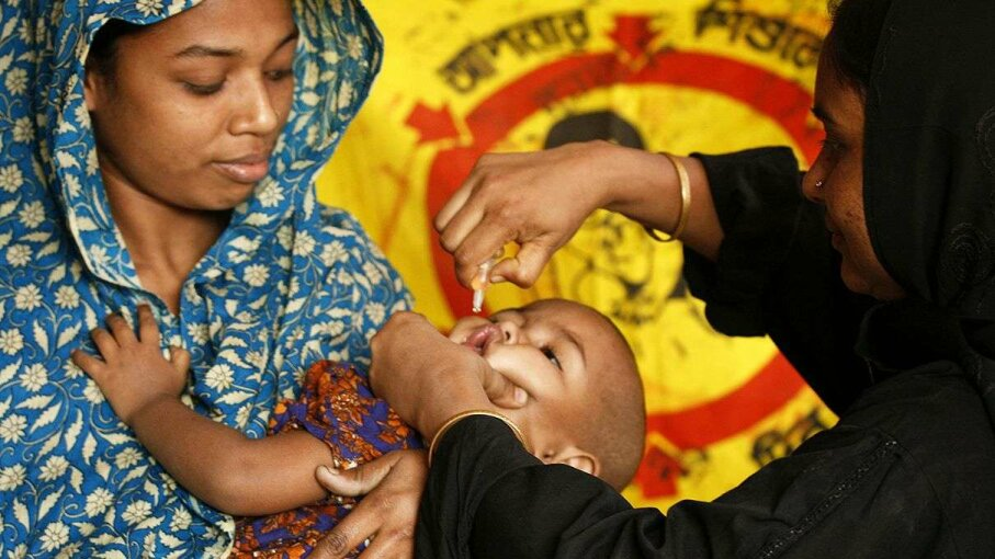 As we approach a polio-free world, the task actually gets more complicated and several hurdles remain. Majority World/Getty Images