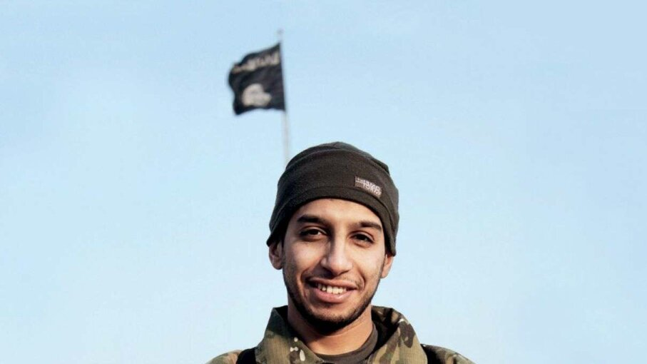 This undated photo features a man named as Abdelhamid Abaaoud, the alleged leader of the Paris attacks.  Handout/Reuters/Corbis