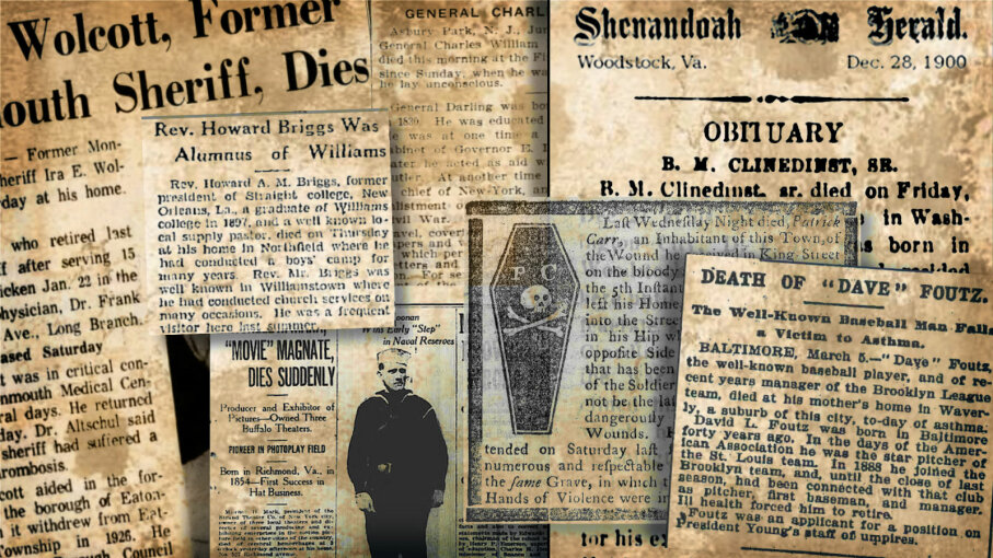 collage obituaries