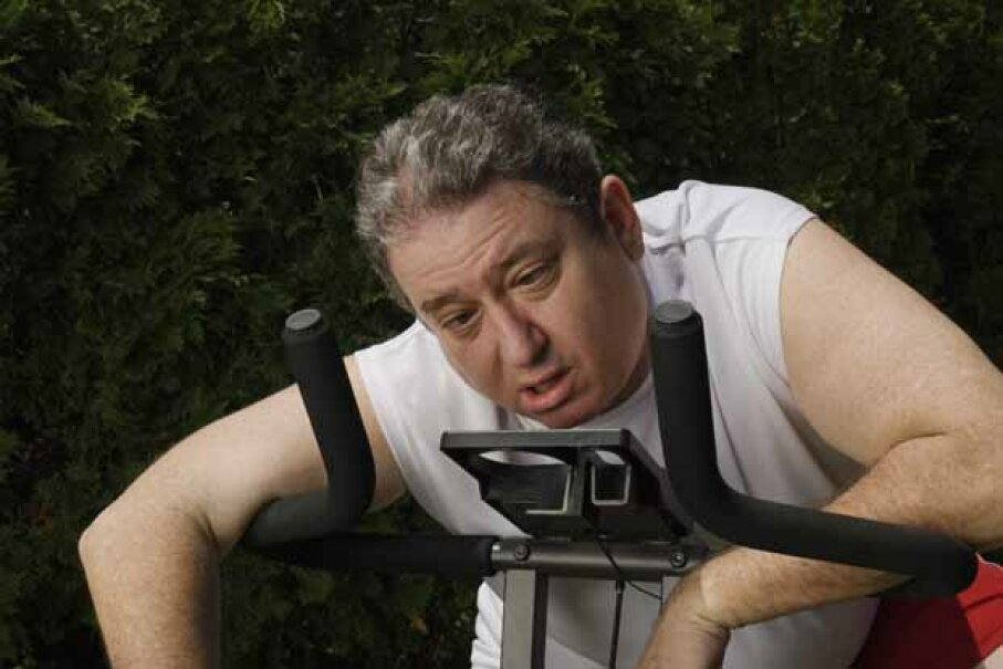 Exercise can actually be bad for you if you do it the wrong way.  So see a doctor before you begin any exercise program. Michael Greenberg/Photodisc/Thinkstock
