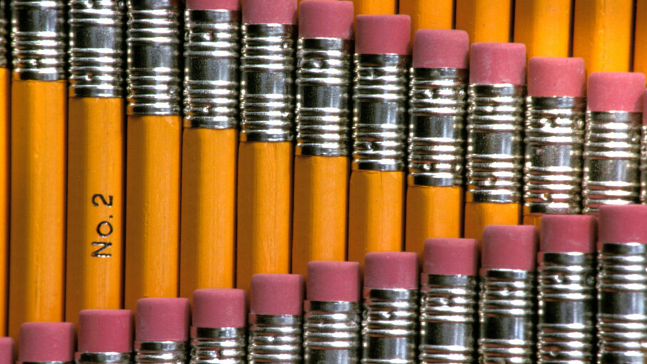 Not all pencils are created equal. Some are higher quality than others. Education Images/UIG/Getty Images