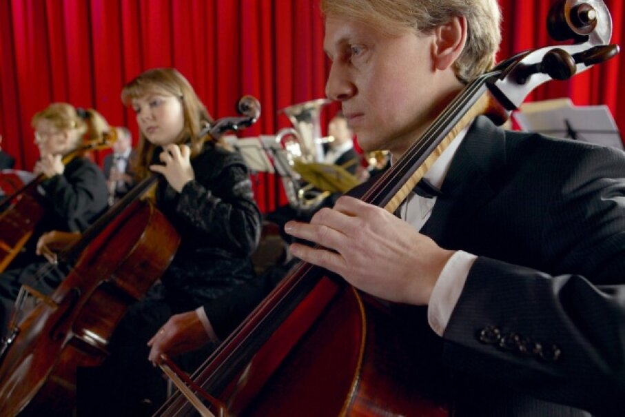 If the members of an orchestra all do their own thing, you just get noise. But if they work together to play a piece of music, listeners hear glorious patterns. ©Digital Vision/Photodisc/Thinkstock