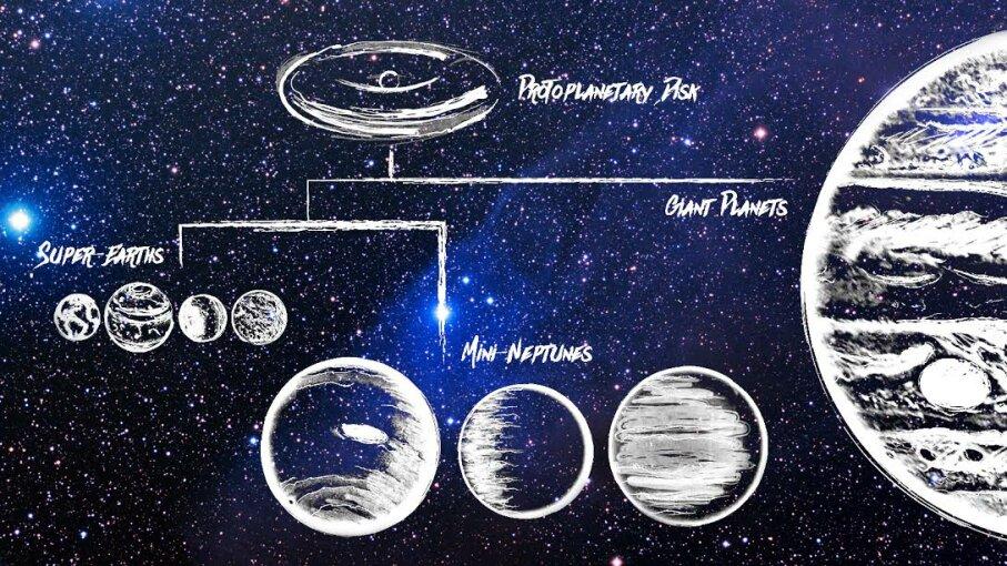 Galactic planetary tree