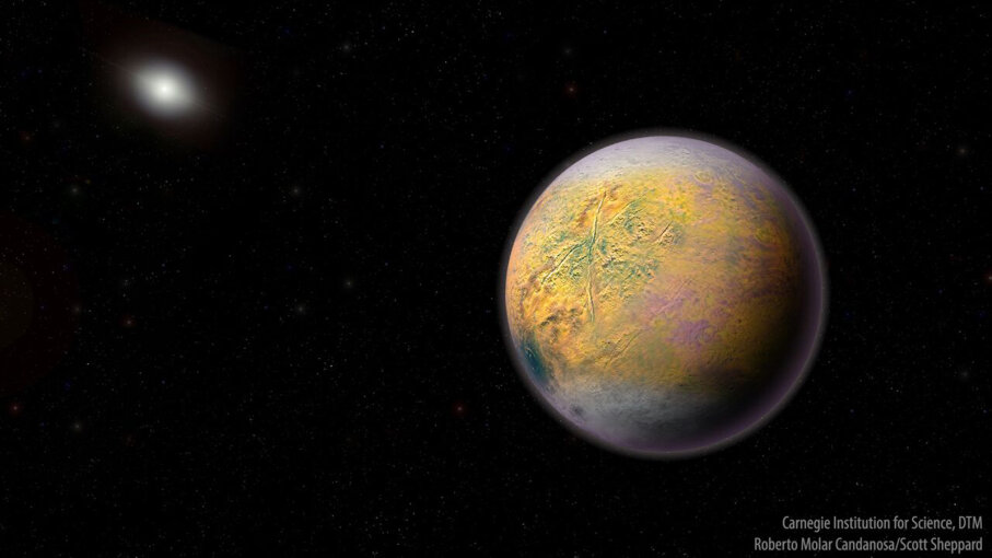 Artist's conception of Planet X (aka Planet Nine)