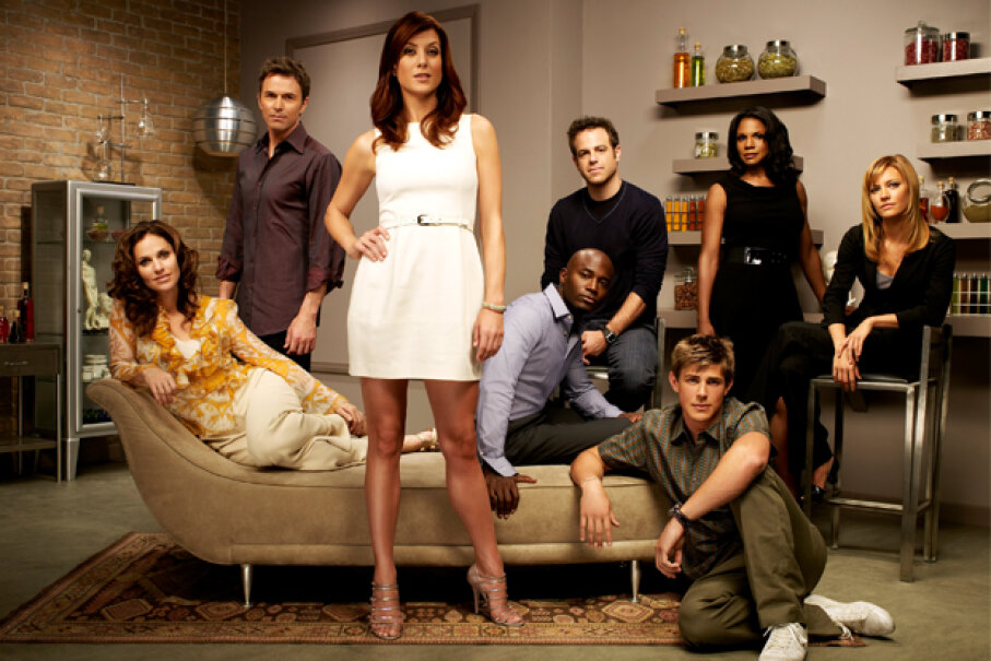 """The """"Grey's Anatomy"""" spinoff """"Private Practice"""" drew millions of viewers. Justin Stephens/Getty Images"""