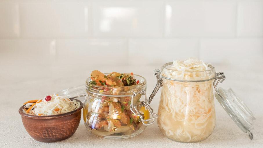 sauerkraut and pickles